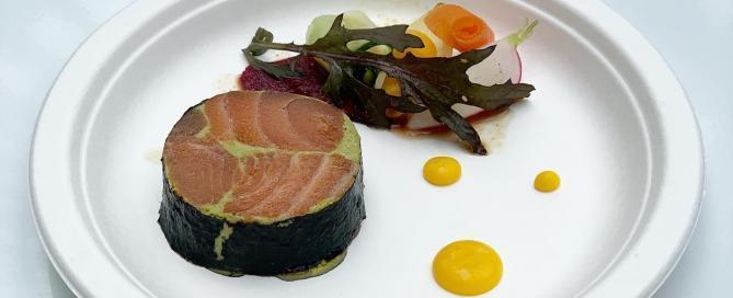 Le saumon par Frédéric Anton