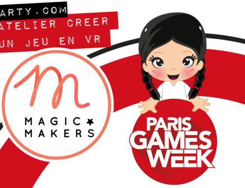 Atelier code ton jeu en VR à la PGW