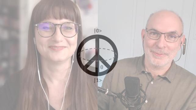 Fanny Bouton et Olivier Ezratty dans Quantum 17
